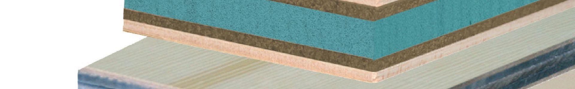 Schalldämmende Sandwichplatten