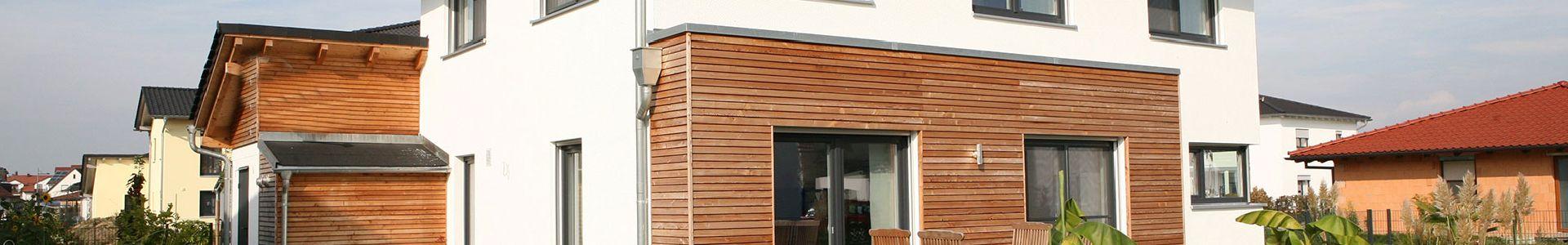 Profilholz für Fassaden